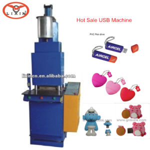 Rubber Patches Injection Molding Machine (PVC, TPR, Silicone, ink, paint, etc.) pictures & photos