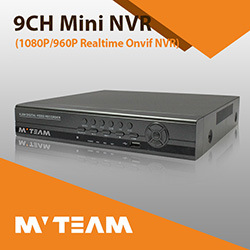 3520d Chipset 9CH NVR H. 264 CCTV Security Recorder Real Time IP NVR with Audio pictures & photos