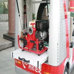 Smart Size Electric Fire Engine Truck for 2 Seats Rsh-X602 pictures & photos