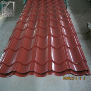 0.28mm Thickness 900mm Width Prepainted Color Coated Steel Sheet pictures & photos