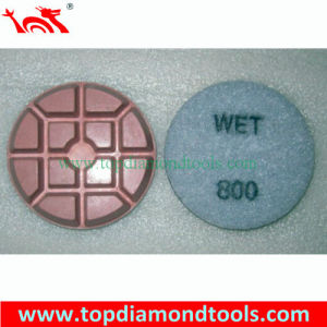 "3"" Diamond Abrasive Concrete Resin Floor Polishing Pad pictures & photos"