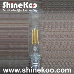 Glass T32 6W LED Filament Bulb (SUN-6WT32) pictures & photos