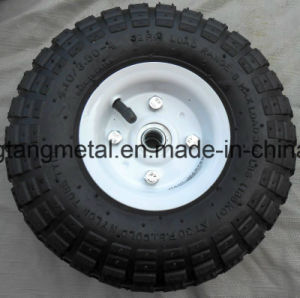 "10"" Inch Air Inflatable Rubber Wheels with Rim Dolly Tire Wheel New pictures & photos"
