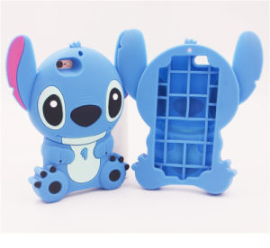 3D Silicone Phone Case Stitch Cell Phone Accessories for Huawei P8 P9 (XSDW-078) pictures & photos