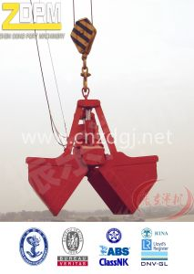Electro Hydraulic Rope Clamshell Grab Bucket pictures & photos