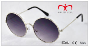 Retro Design and Round Frame Metal Sunglasses (MI218) pictures & photos