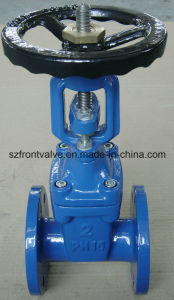 Ductile Iron DIN F4 Rising Stem Resilient Seated Gate Valve pictures & photos
