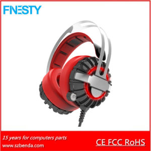 Stereo Vibration Gaming Headset with LED Light Gh10