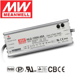 Meanwell Driver 100W 24V LED Power Supply Hlg-100h-24 pictures & photos
