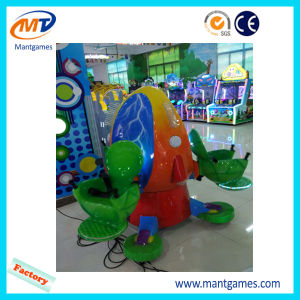 Mini Coin Operated Frog Jumping Machines for Kids pictures & photos
