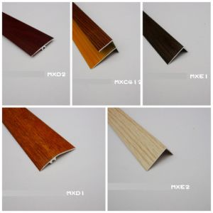 F Shape 12mm and 15mm Stair Nose at Painted Wood and PVC Wood pictures & photos