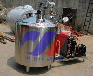 Stainless Steel Vertical Type Milk Cooling Storage Tank pictures & photos