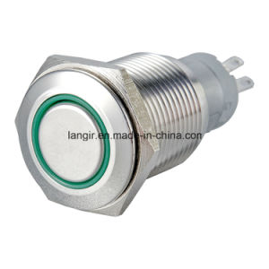 16mm Momentary Push Button Switch Waterproof pictures & photos