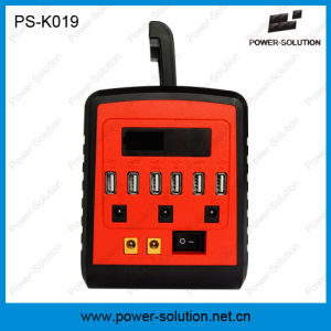 10W Solar Lighting Kits with 6 USB Port Phone Charger pictures & photos