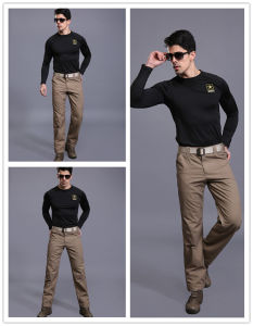 3 Colors City Daily Commuter Riding Pants Men′s Tactical Trousers pictures & photos