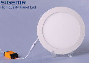 Embeded Round Super Thin 4W 6W 9W 12W 15W 18W 20W LED Panel Lights pictures & photos