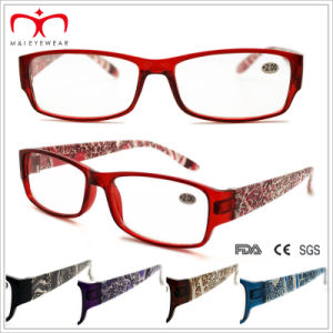 Unisex Plastic Reading Glasses with Animal Pattern (WRP409180) pictures & photos