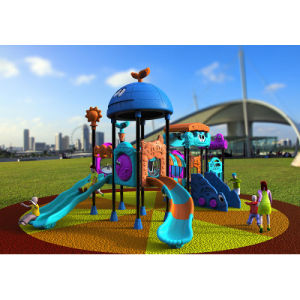 Outdoor Playground--Small Earth Guard Series, Children Outdoor Slide (XYH-MH020) pictures & photos