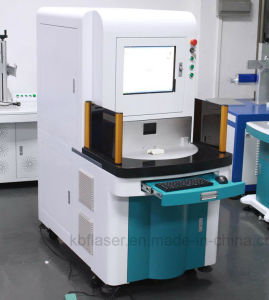 Precise UV 10W Laser Cutting Machine for PVC with Water Cooling pictures & photos