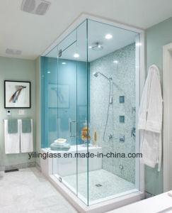 Tempered Walk in Shower Glass Door with Precise Hole Cutout pictures & photos