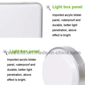Double Sided Vacuum Plastic Light Box Signboard pictures & photos