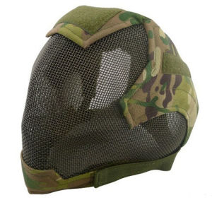 China Wholesale V6 Strike Wire Mesh Full Face Airsoft Mask pictures & photos