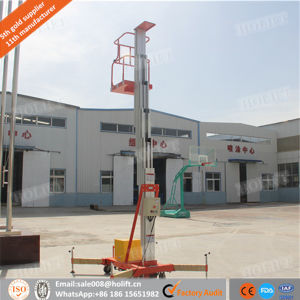 Electric Single Mast Lift/Aluminum Lift Platform pictures & photos