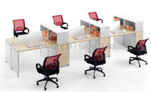 Modern Appearance Wooden Material Six Person Office Work Station (SZ-WS908) pictures & photos