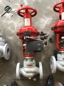 Globe Type Pneumatic Diaphragm Flow Control Valve (HTS) pictures & photos