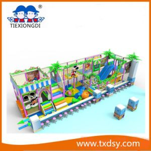 Indoor Playground Plastic Slides Equipment for Shopping Mall pictures & photos