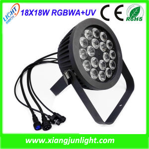 18PCS 18W Outdoor LED Wash PAR Light Rgbwauv pictures & photos