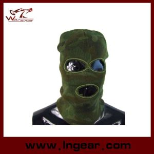 Swat Balaclava Hood 3 Hole Head Face Knit Mask pictures & photos