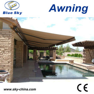 Metal Retractable Window Awning Fabric (B1200) pictures & photos