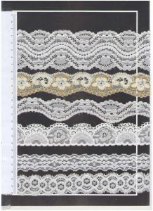 Elastic Lace for Clothing/Garment/Shoes/Bag/Case pictures & photos
