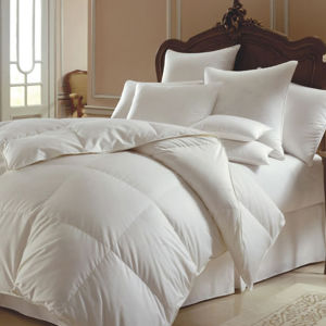Luxury White Microfiber Duvet Hotel Bed Linen Polyester Duvet pictures & photos