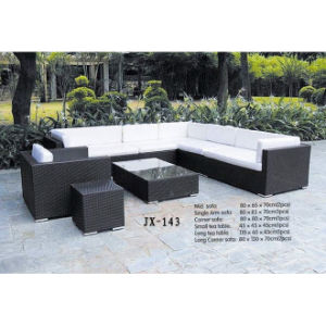 Garden Rattan Furniture Outdoor Patio Wicker Modern Leisure Sofa