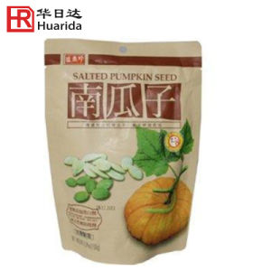 Matte Finished Plastic Packaging Bag for Almonds with Zipper pictures & photos