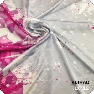 Satin Chiffon Fabric/ Silk Satin Lining Fabric for Women′s Dress (RHFZ-0321)
