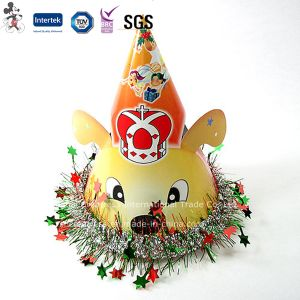Factory Cheap Price Birthday Cap with Star Decoration pictures & photos