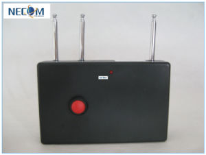 Portable All Remote Controls RF Jammer (315/433/868MHz) , 100 Meters Quad Band RC Jammer (868MHz/ 315MHz/ /433MHz) pictures & photos