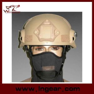 Mich 2002 Helmet with Nvg Mount Side Rail Action Version Tactical Airsoft Helmet Safety Helmet pictures & photos