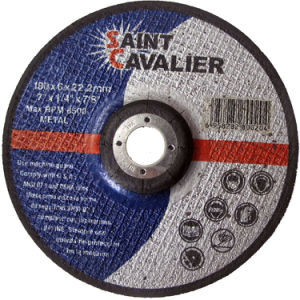 Abrasives Wheels, Grinding Wheels for Metal 180X6.0X22.23 pictures & photos