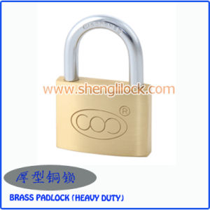2015 High Quality Best Sale Solid Heavy Duty Brass Padlock pictures & photos