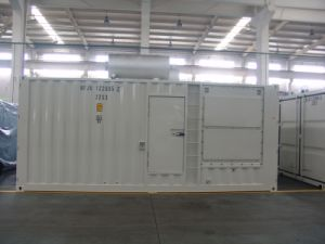 Bf-P880s Baifa with Perkins Series Soundproof Container Generator