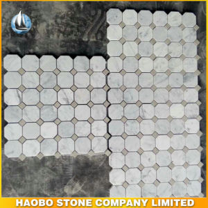 Carrara White Marble Hexagon Mosaic Tiles pictures & photos