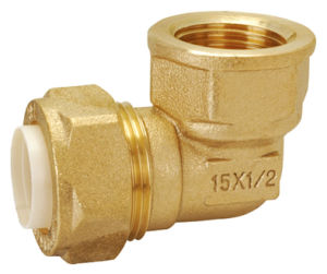 Brass Pipe Fitting with Reducing Elbow Union Bf-15005 pictures & photos