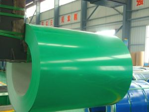 Color Coated Galvanized Steel Coil 0.18-0.8mm*914-1219mm pictures & photos