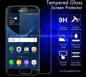Factory Wholesale Price Tempered Glass Screen Protector 2.5D Cured 0.33mm Anti-Water for Mobile Phone Samsung J7 pictures & photos