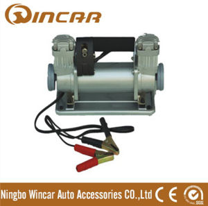 Double Cylinder Portable Car Tyre Inflator From Ningbo Wincar