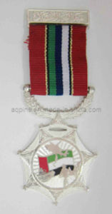 Zinc Alloy Enamel Medals with Ribbon pictures & photos
